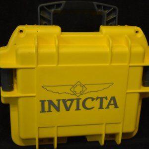 Invicta 3 watch slot storage box